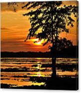 Deschenes Sunset Canvas Print