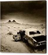 Desert Arizona Usa Canvas Print