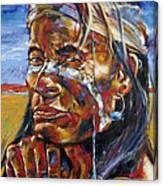 Desert Brave Canvas Print