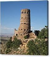 Desert Watchtower Canvas Print
