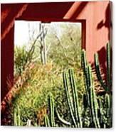 Desert Window Canvas Print