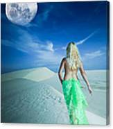 Desert Woman Canvas Print