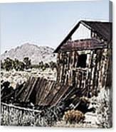 Deserted Desert Dwelling Canvas Print