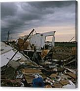 Destruction Left In The Wake Canvas Print