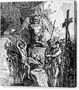 Destruction Of Idols, C1750 Canvas Print
