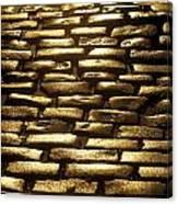 Detail Of Cobblestones, Dublin, Ireland Canvas Print