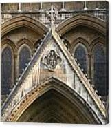 Detail Of Westminster Abbey Canvas Print
