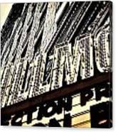 Detroit Fillmore Theatre Canvas Print