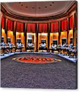 Detroit Pistons Locker Room Auburn Hills Mi Canvas Print