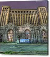 Detroit's Michigan Central Station - Michigan Central Depot Canvas Print