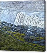 Dettifoss Waterfall Iceland Canvas Print