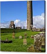 Devenish Monastic Site, Co. Fermanagh Canvas Print