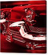 Devilish Hot Rod Canvas Print