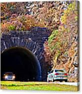 Devil's Courthouse Tunnel Canvas Print