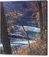 Devils Den State Park Creek Canvas Print