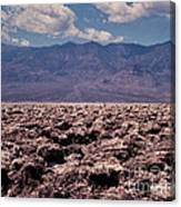 Devil's Golf Course At Death Valley Canvas Print
