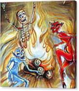 Devil's Inferno Canvas Print