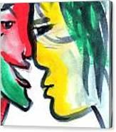 Dialogos 3 Canvas Print