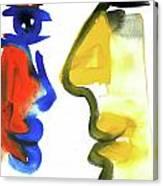 Dialogos 35 Canvas Print