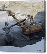 Diamond Mining, Sakha Canvas Print