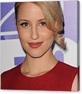 Dianna Agron In Attendance For Fox 2010 Canvas Print