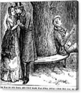 Dickens: Martin Chuzzlewit Canvas Print