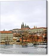 Die Moldau - Prague Canvas Print