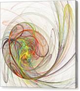 Diffusion  Canvas Print