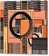Digital Design 385 Canvas Print