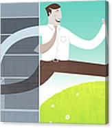 Digital Illustration Canvas Print