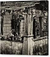 Dilapidated House Canvas Print