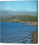 Dillon Beach Pier Canvas Print