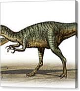 Dilophosaurus Wetherilli, A Prehistoric Canvas Print