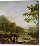 Dinas Bran From Llangollen Canvas Print