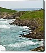 Dingle Peninsula Sea Shore 1 Canvas Print