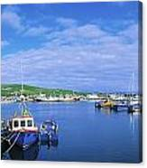 Dingle Town & Harbour, Co Kerry, Ireland Canvas Print