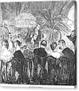 Dinner Party, 1885 Canvas Print