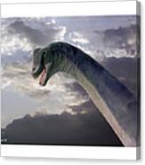 Dinosaur Sky Canvas Print