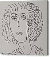 Direct Woman Canvas Print