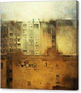 Dirty City View Canvas Print
