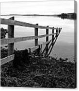 Disappearing Fence. Canvas Print