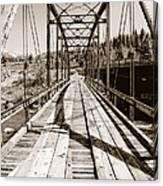 Discarded Bridges Canvas Print