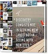 Discovery Is So Canvas Print