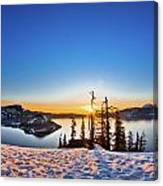Discovery Point Sunrise Canvas Print