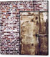 Dismal At Best - Rusty And Crusty Canvas Print