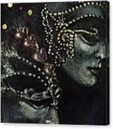 Distant Faces Canvas Print
