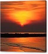 Distant Sun Canvas Print