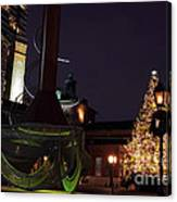Distillery District Holiday Night Canvas Print