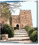 Do-00483 Byblos Citadel Canvas Print