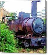 Do-00504 Train In Mar Mickael Canvas Print